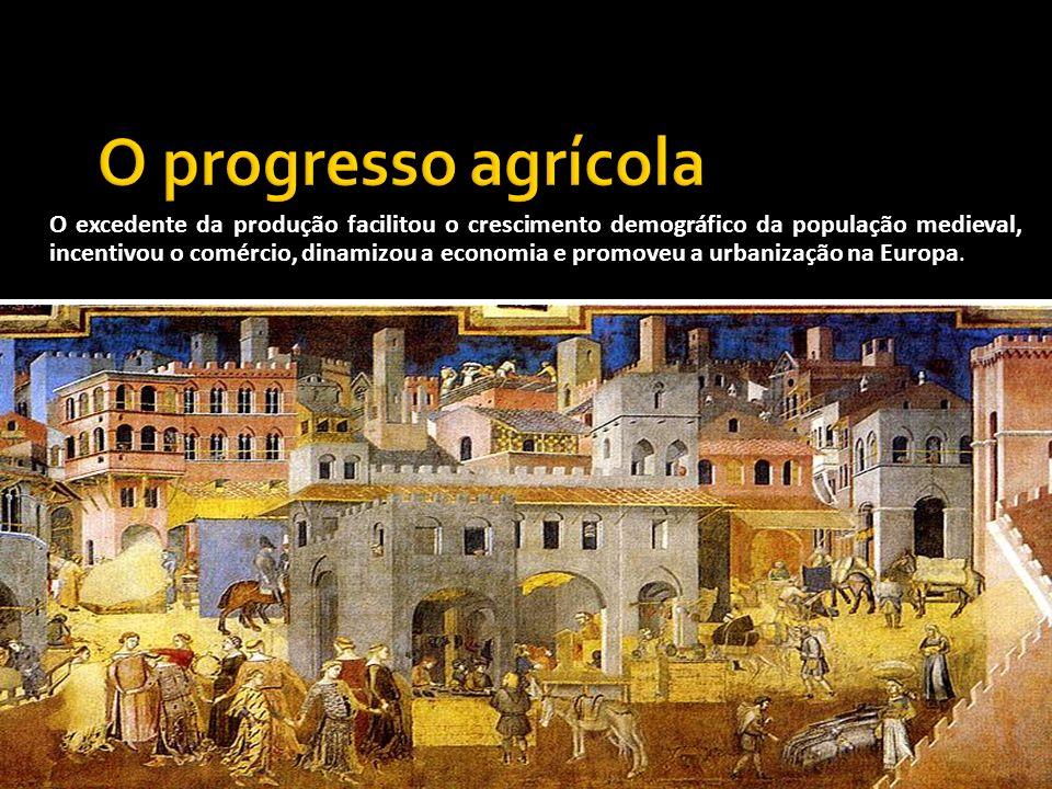 O progresso agrícola
