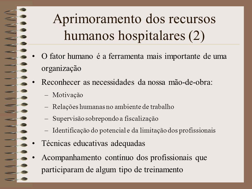 Aprimoramento dos recursos humanos hospitalares (2)