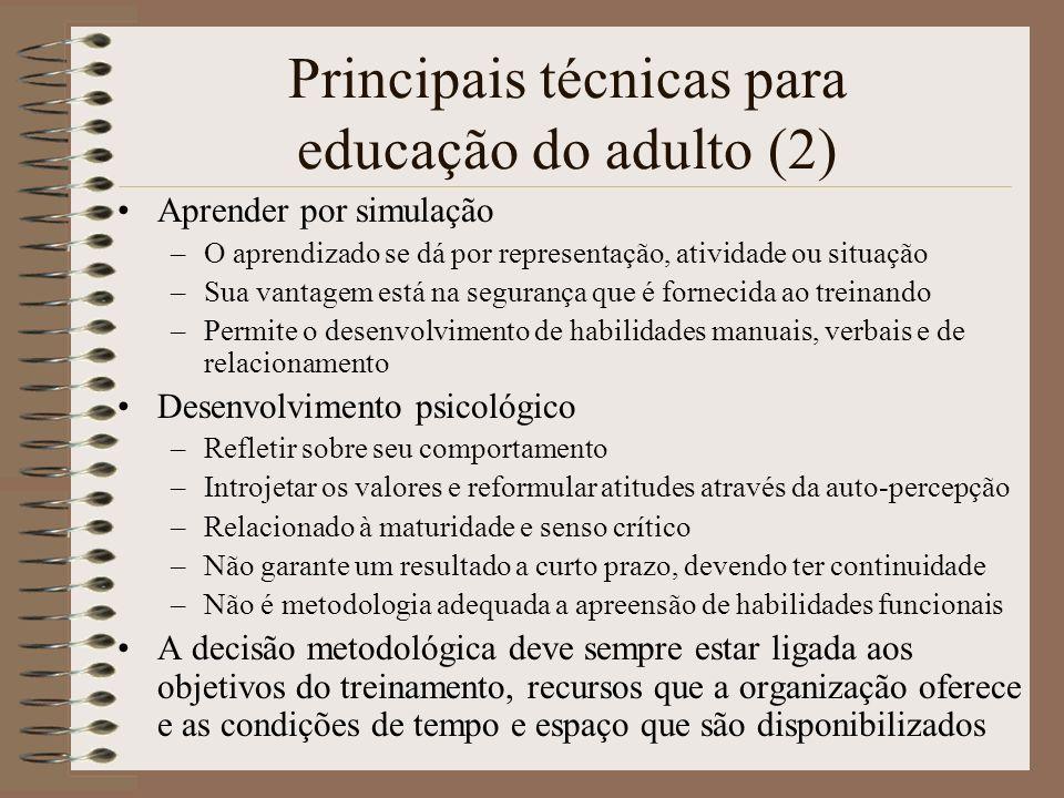 Principais técnicas para educação do adulto (2)