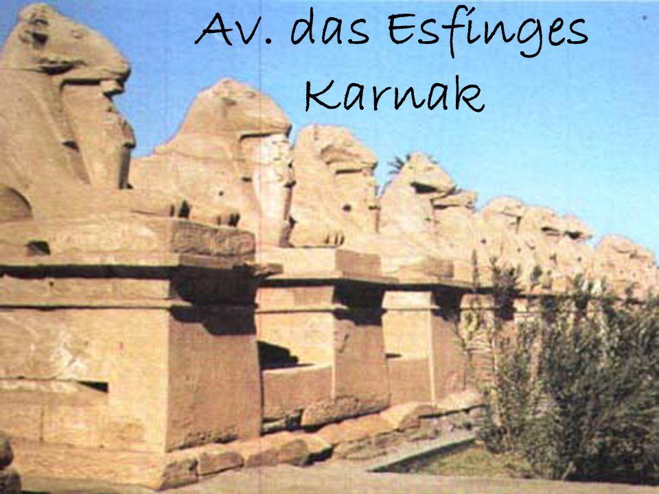 Av. das Esfinges Karnak