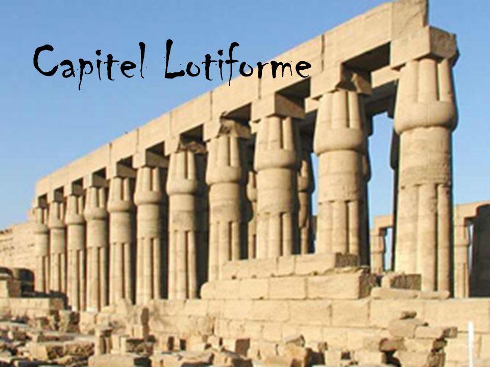 Capitel Lotiforme