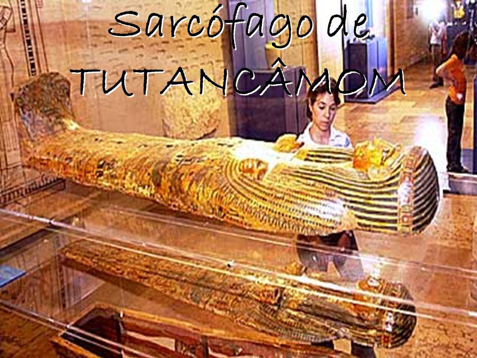 Sarcófago de TUTANCÂMOM