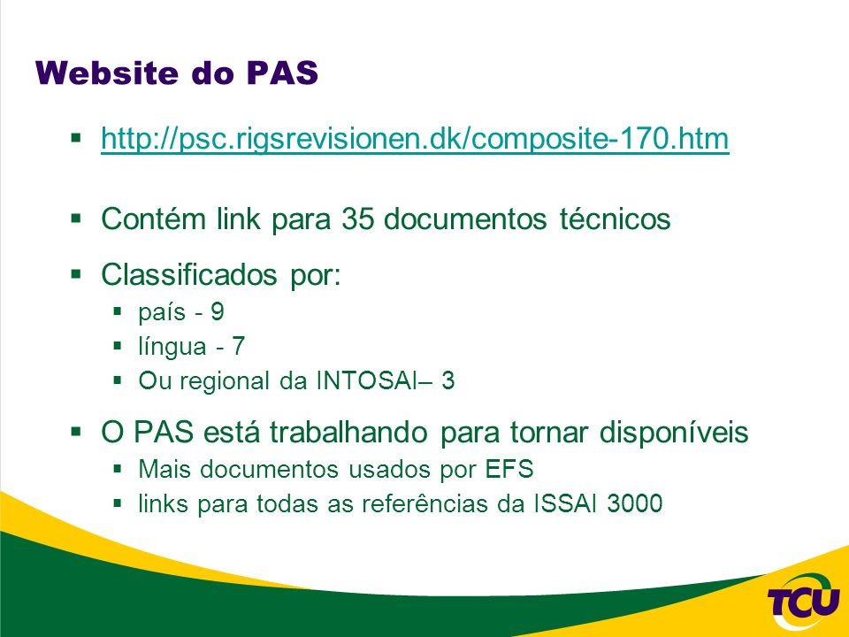 Website do PAS http://psc.rigsrevisionen.dk/composite-170.htm