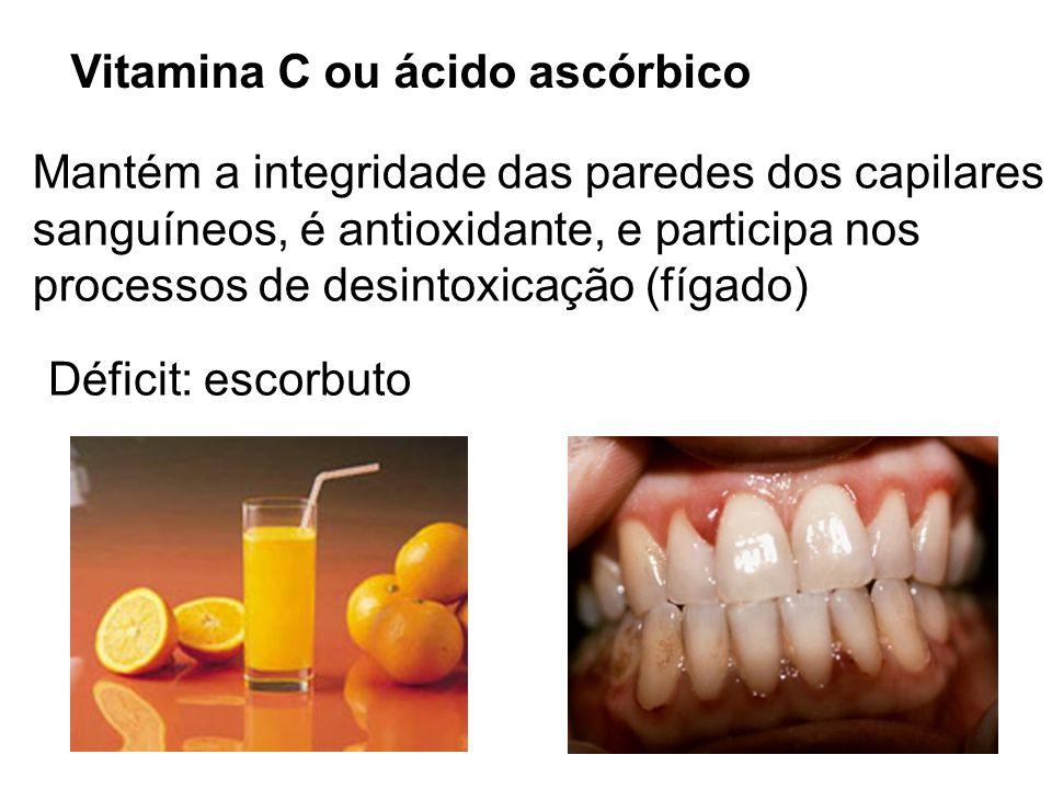 Vitamina C ou ácido ascórbico