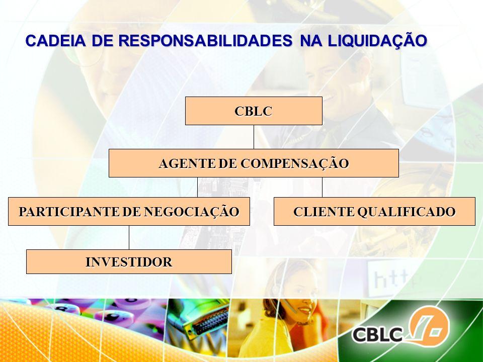 CADEIA DE RESPONSABILIDADES NA LIQUIDAÇÃO