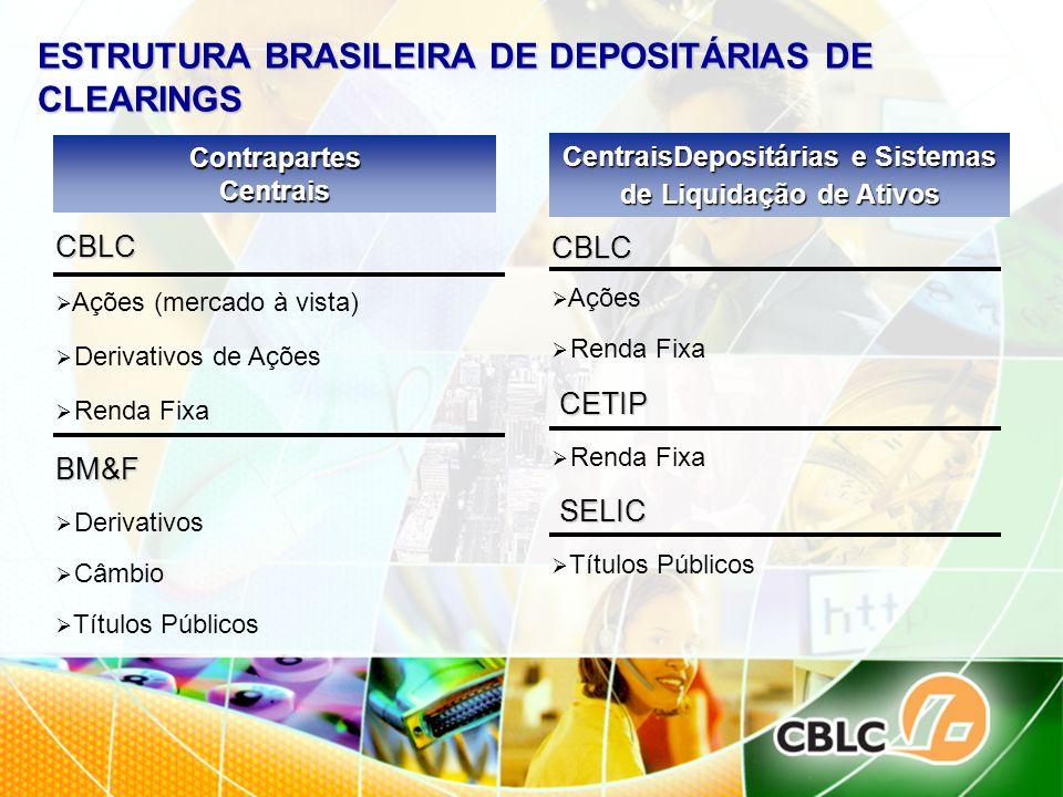 ESTRUTURA BRASILEIRA DE DEPOSITÁRIAS DE CLEARINGS