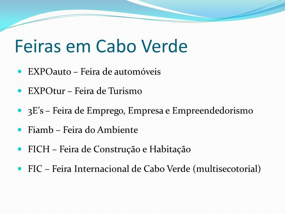 Feiras em Cabo Verde EXPOauto – Feira de automóveis