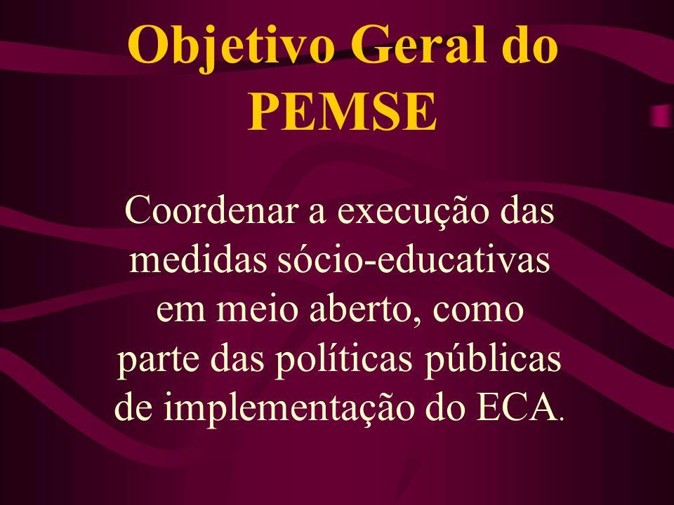 Objetivo Geral do PEMSE