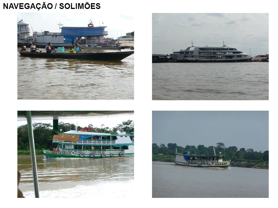 NAVEGAÇÃO / SOLIMÕES