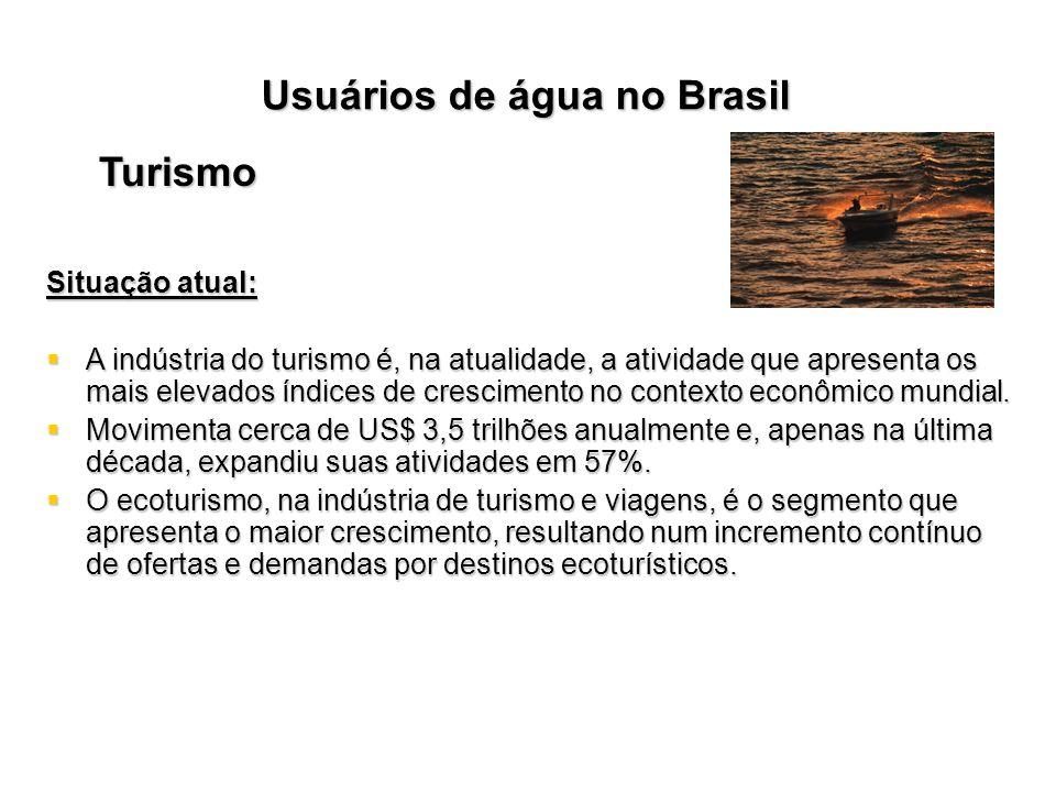 Usuários de água no Brasil