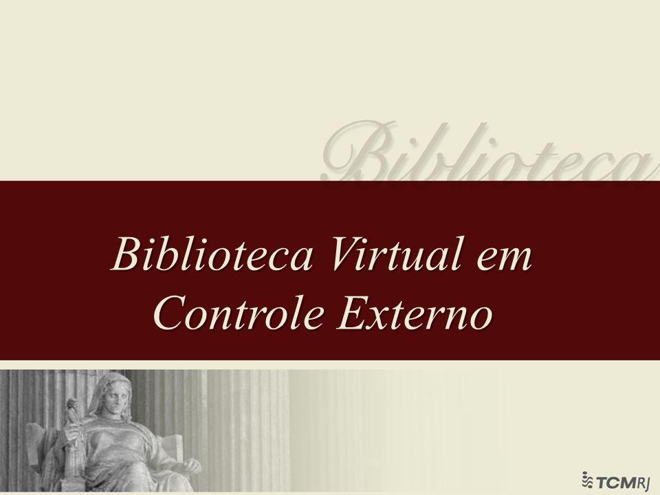 Biblioteca Virtual em Controle Externo