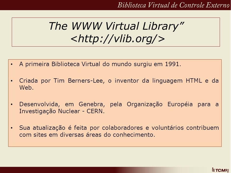 The WWW Virtual Library <http://vlib.org/>