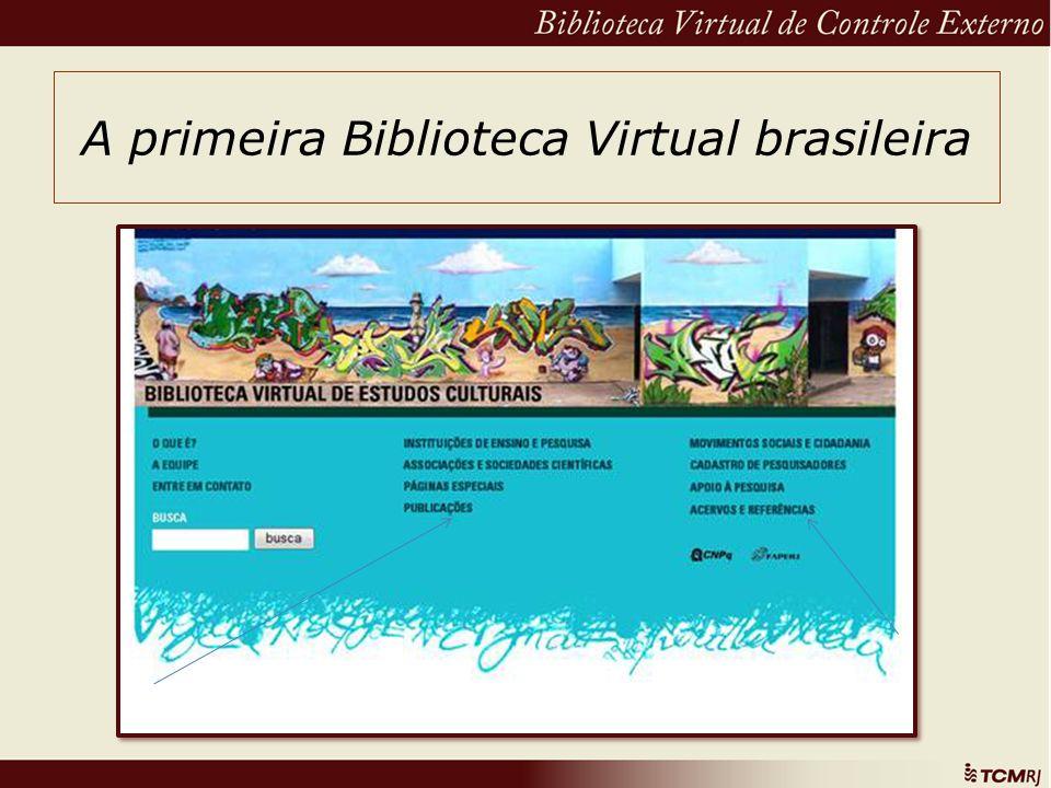 A primeira Biblioteca Virtual brasileira