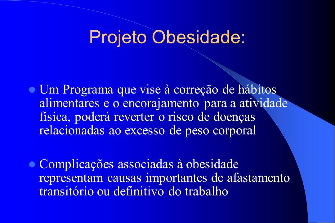 Projeto Obesidade: