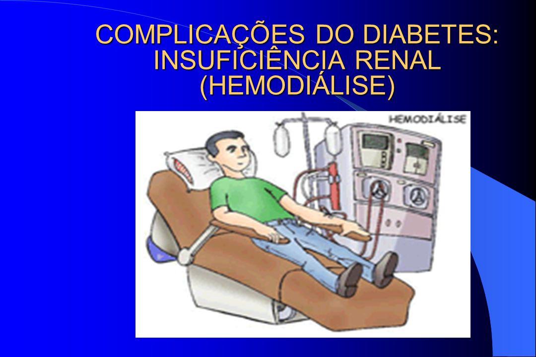 COMPLICAÇÕES DO DIABETES: INSUFICIÊNCIA RENAL (HEMODIÁLISE)