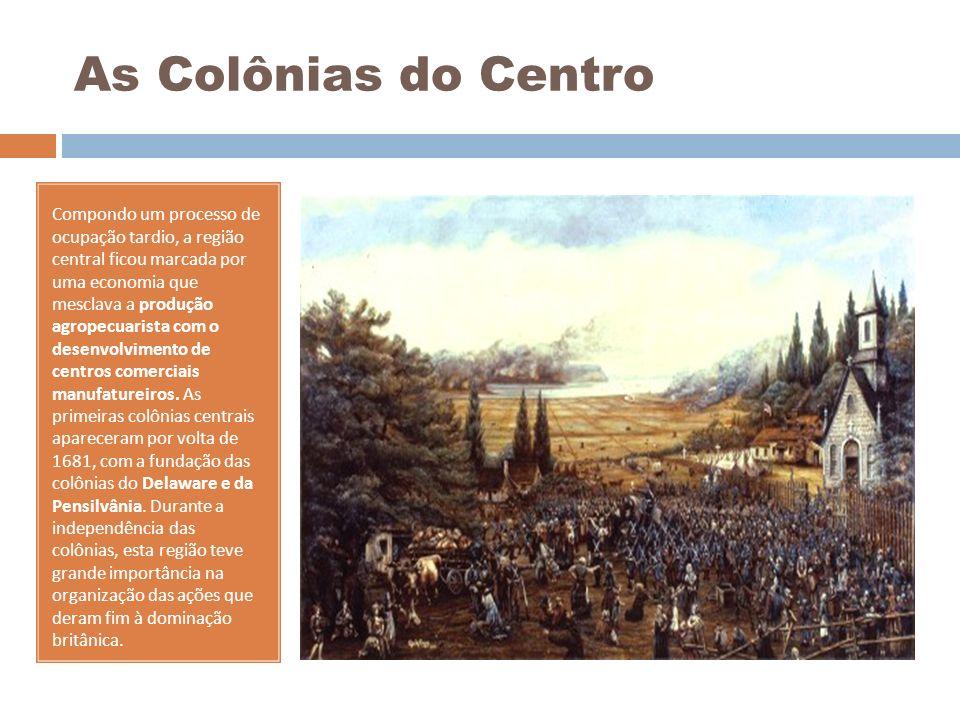 As Colônias do Centro
