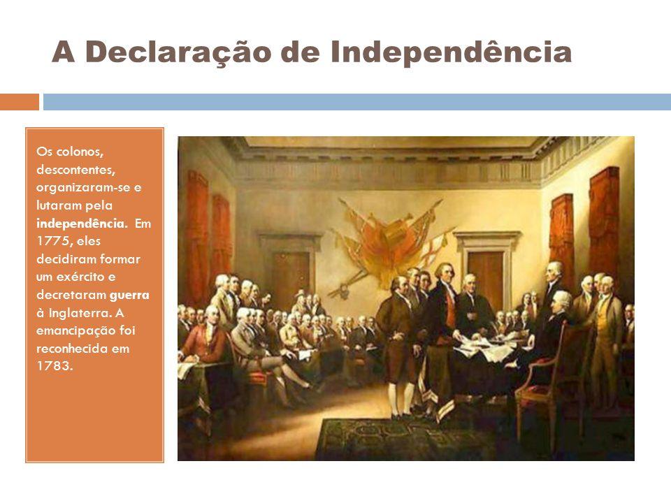 A Declaração de Independência