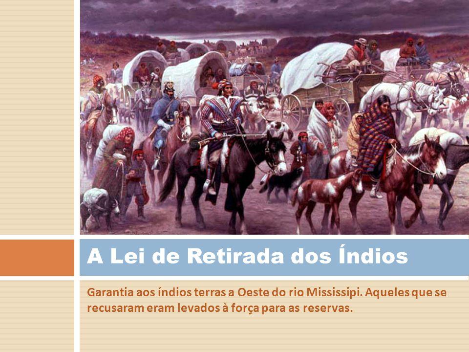 A Lei de Retirada dos Índios