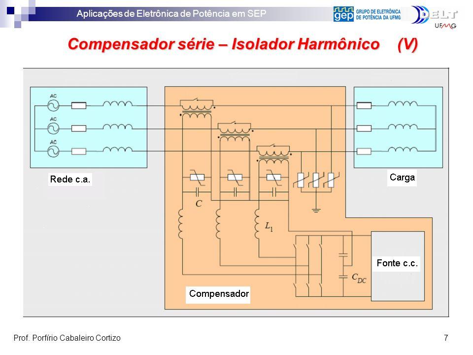 Compensador série – Isolador Harmônico (V)