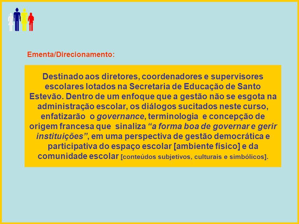 Ementa/Direcionamento: