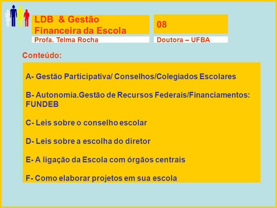 LDB & Gestão Financeira da Escola 08