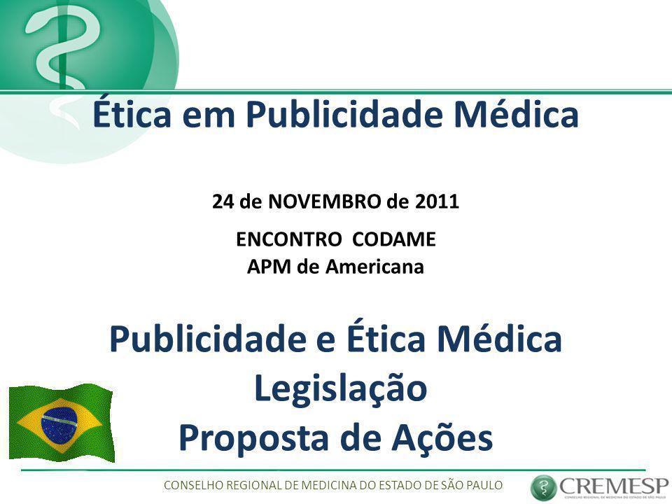 Publicidade e Ética Médica