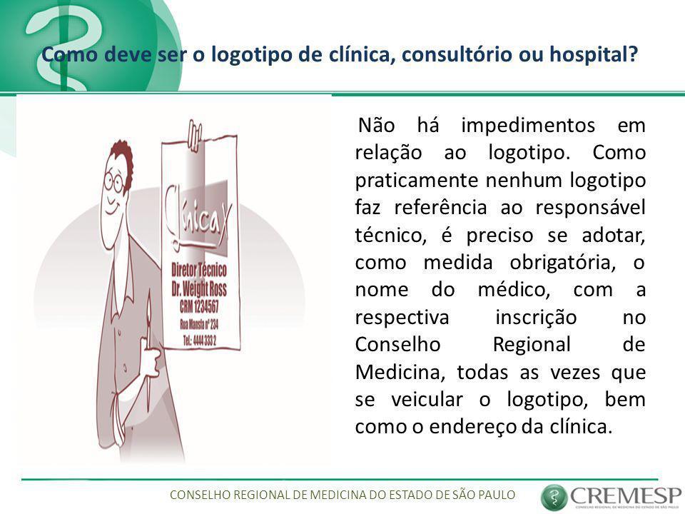 Como deve ser o logotipo de clínica, consultório ou hospital