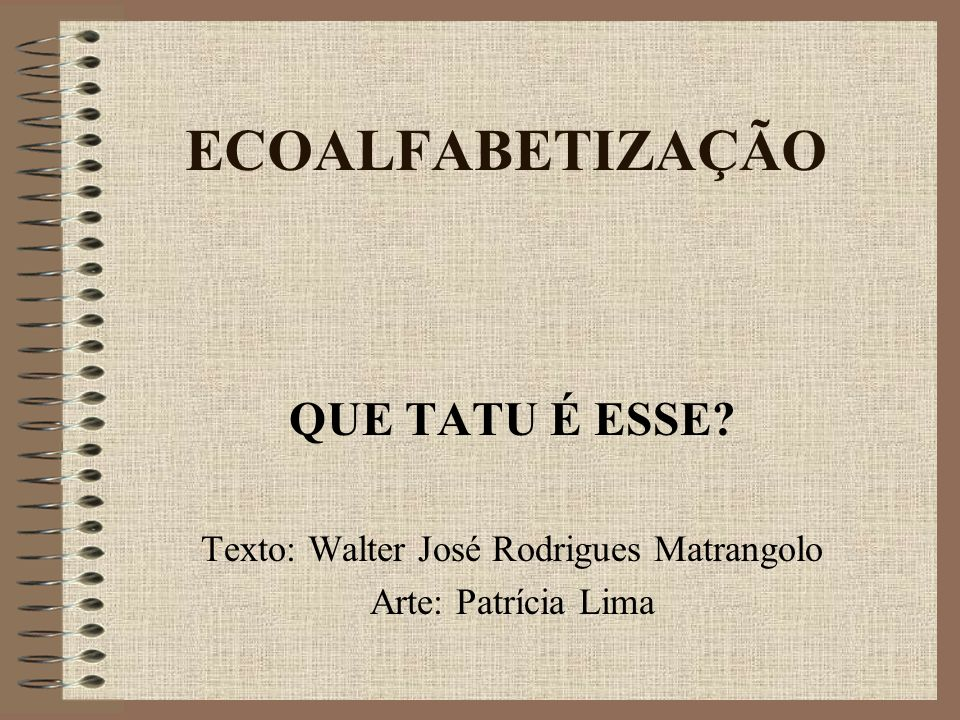 Texto: Walter José Rodrigues Matrangolo