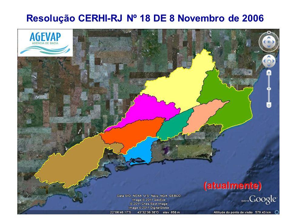 Resolução CERHI-RJ Nº 18 DE 8 Novembro de 2006