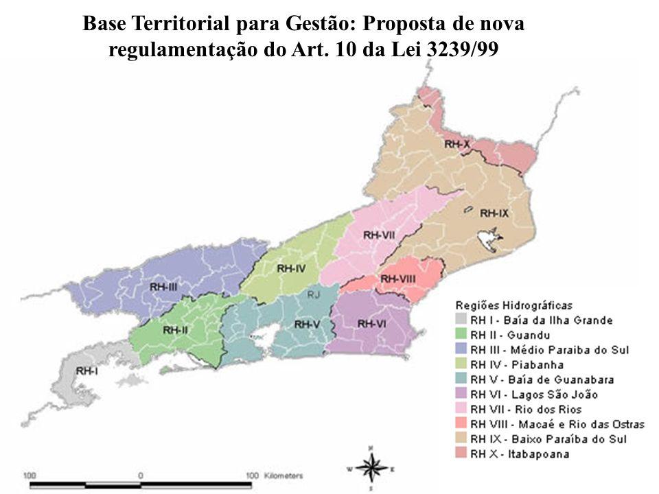 Base Territorial para Gestão: Proposta de nova regulamentação do Art