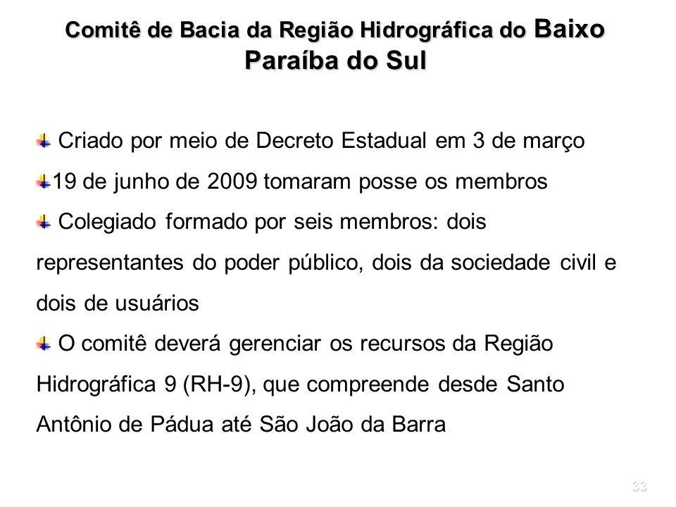 Comitê de Bacia da Região Hidrográfica do Baixo Paraíba do Sul