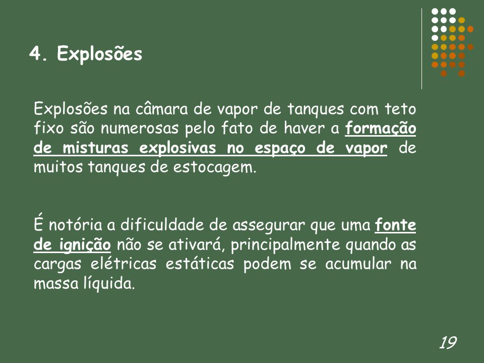 4. Explosões