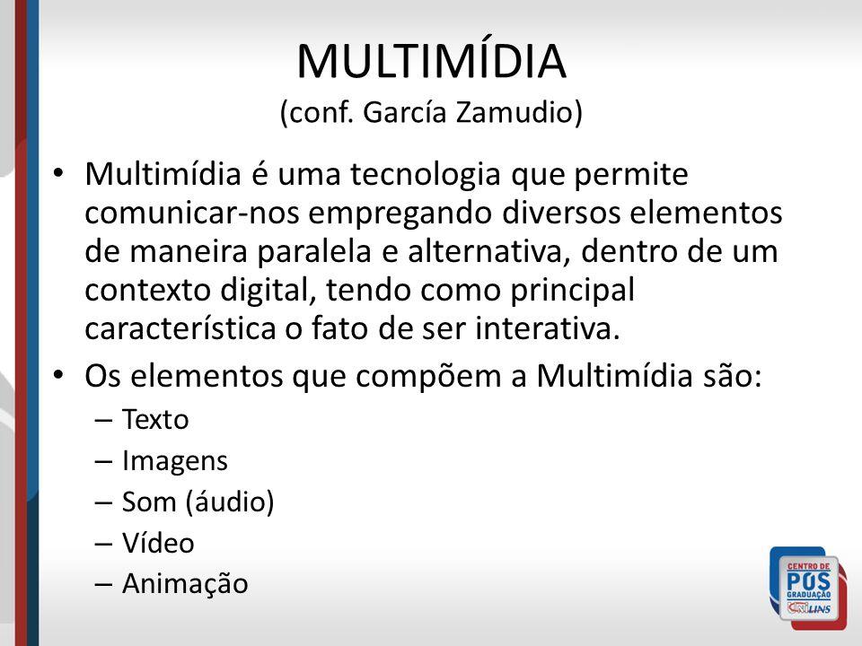 MULTIMÍDIA (conf. García Zamudio)