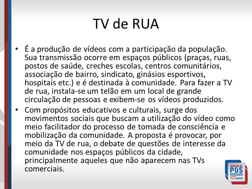 TV de RUA