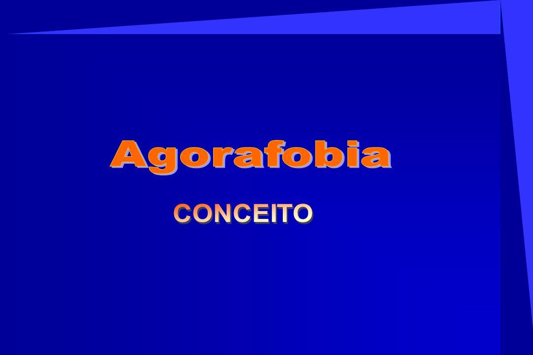 Agorafobia CONCEITO