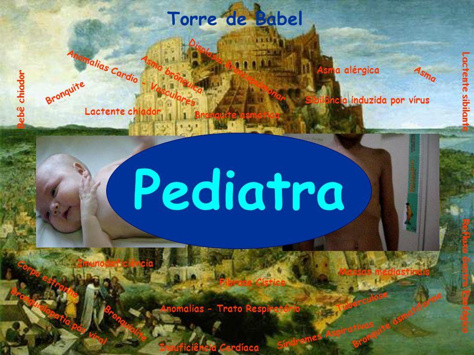 Pediatra Torre de Babel Displasia Broncopulmonar Asma alérgica
