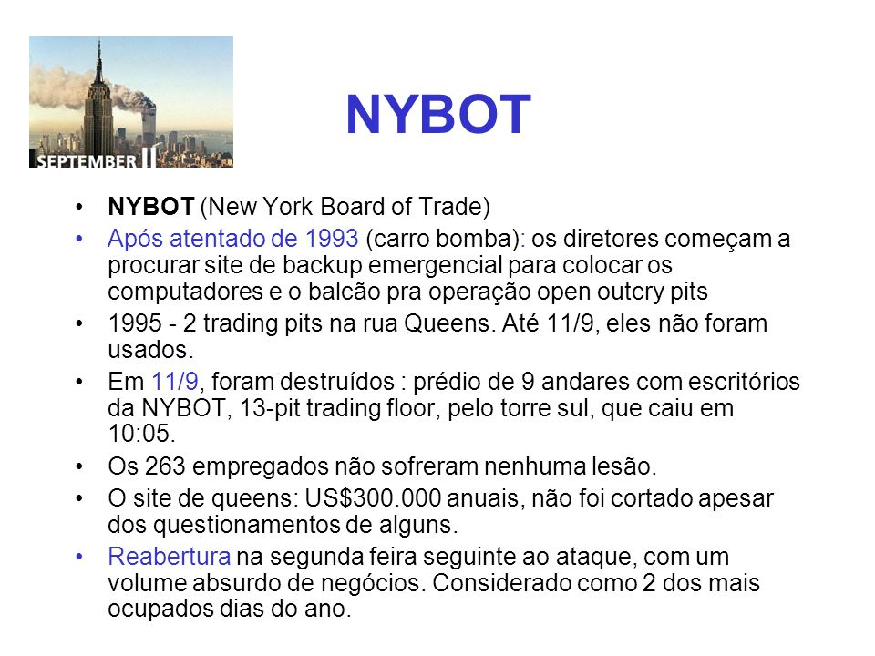 NYBOT NYBOT (New York Board of Trade)