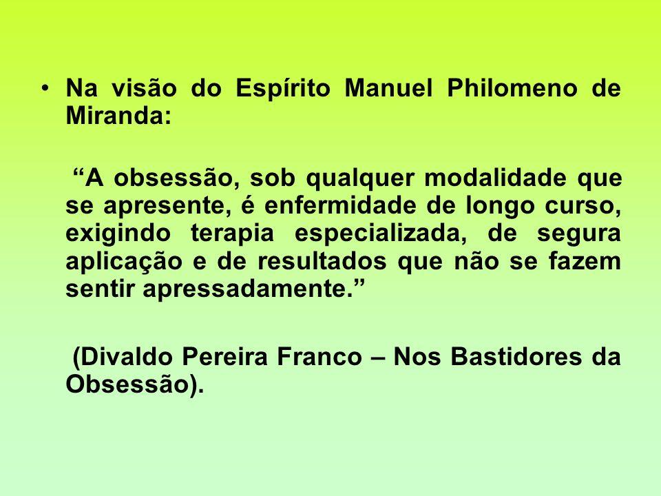 Na visão do Espírito Manuel Philomeno de Miranda: