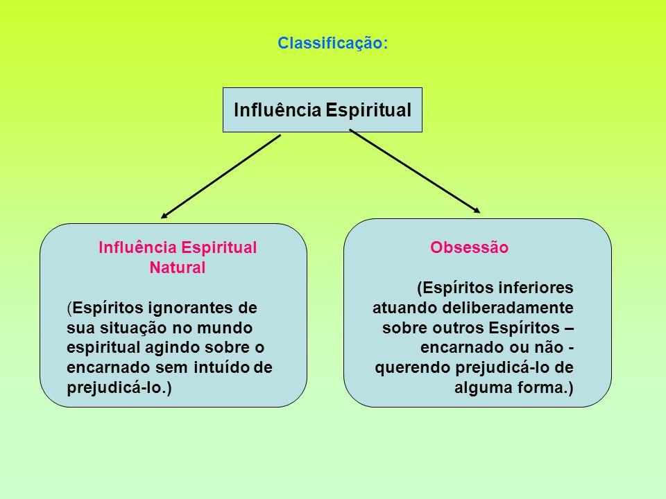 Influência Espiritual Influência Espiritual