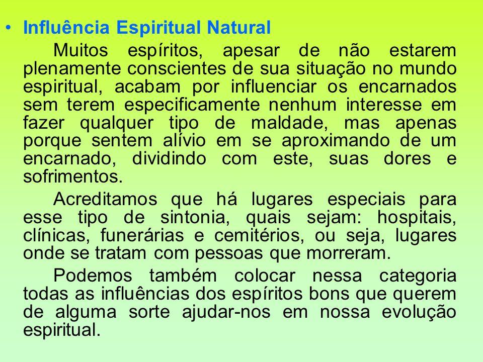 Influência Espiritual Natural
