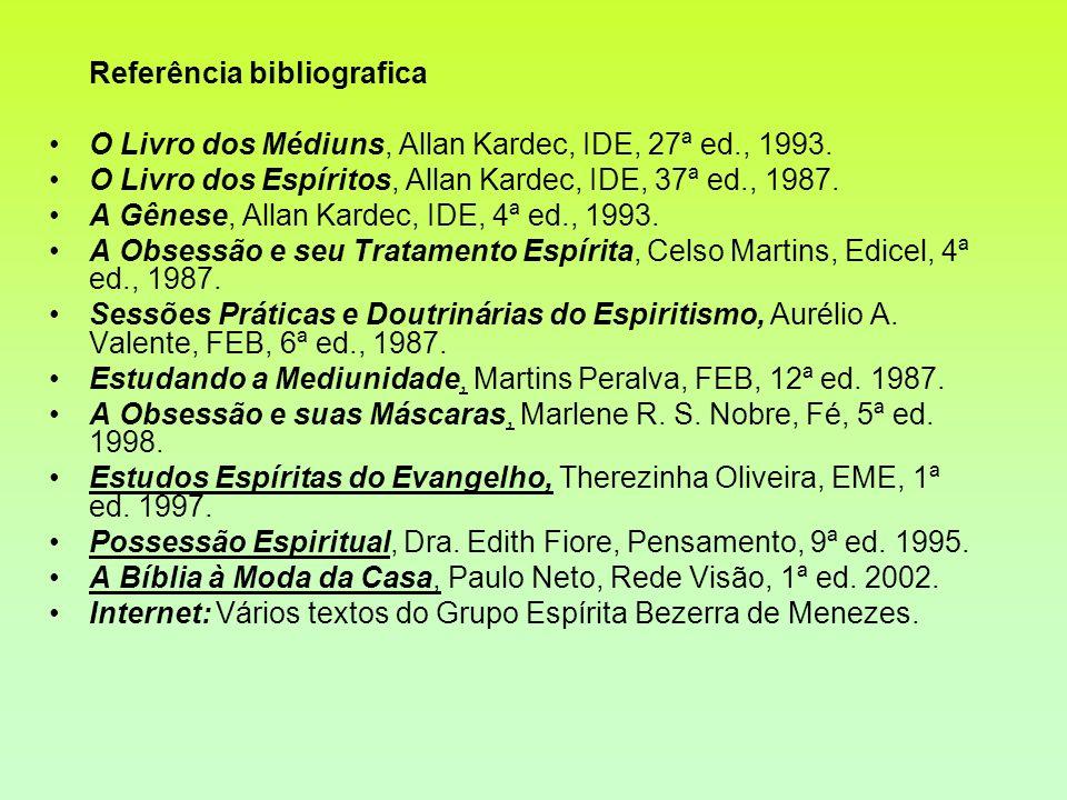 Referência bibliografica