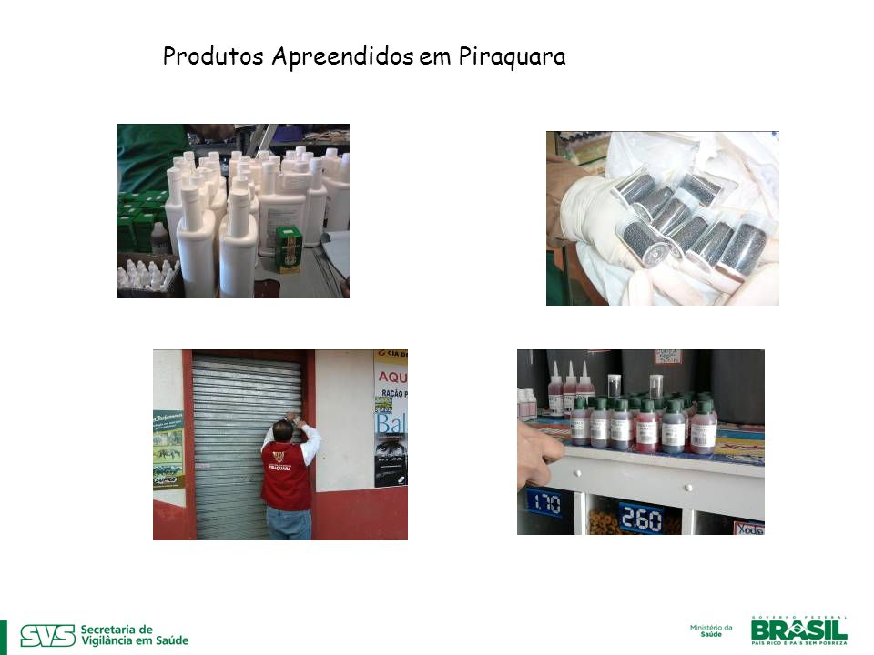 Produtos Apreendidos em Piraquara