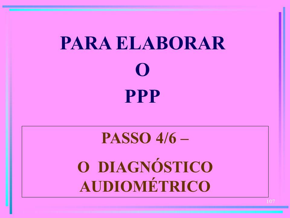O DIAGNÓSTICO AUDIOMÉTRICO