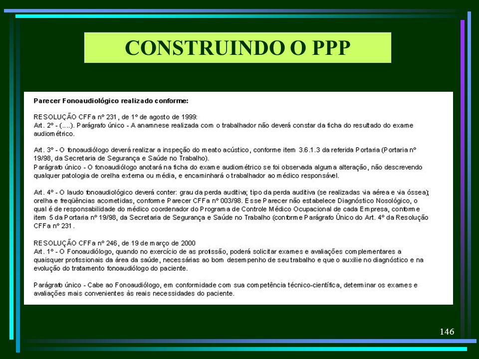 CONSTRUINDO O PPP