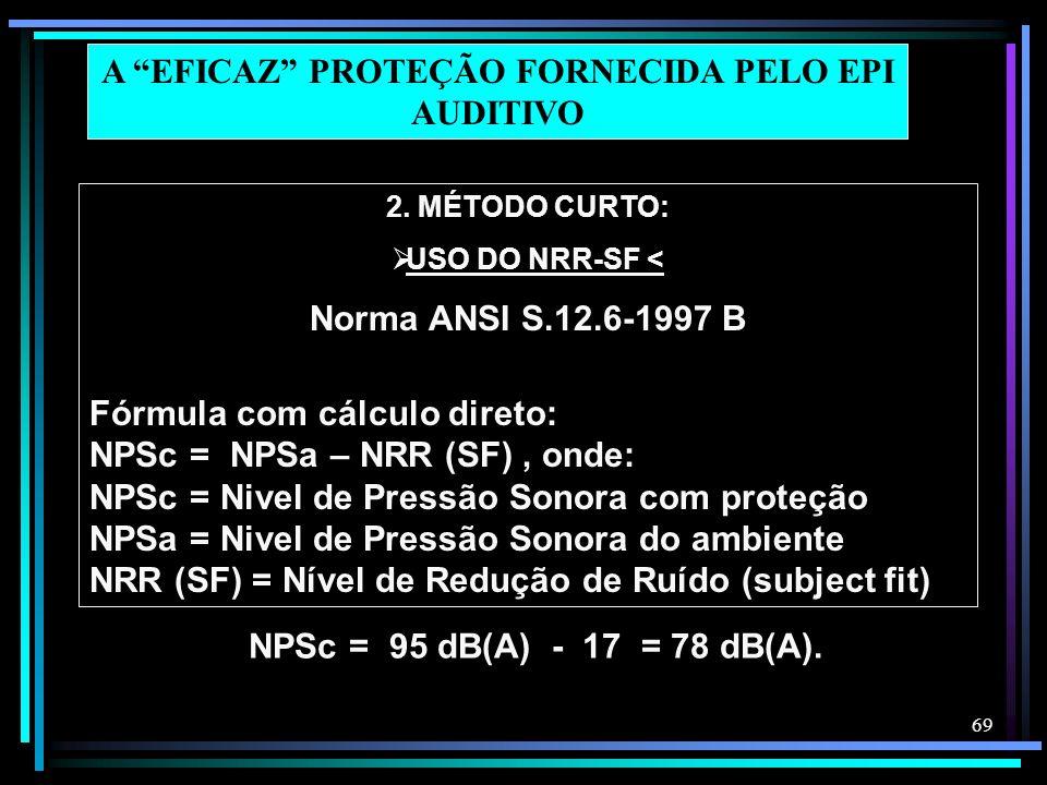 A EFICAZ PROTEÇÃO FORNECIDA PELO EPI AUDITIVO