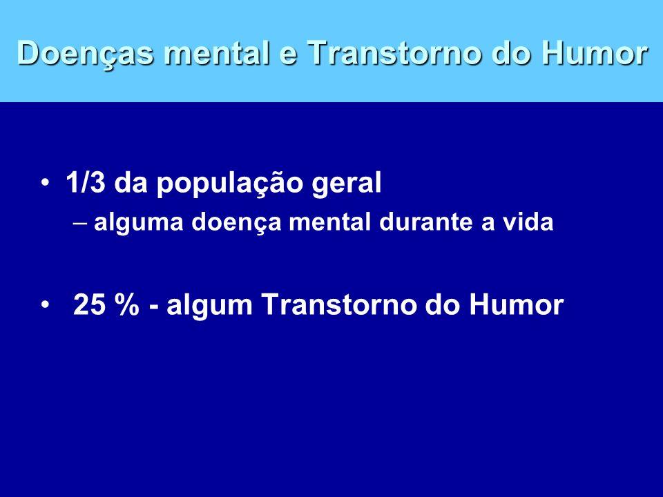 Doenças mental e Transtorno do Humor