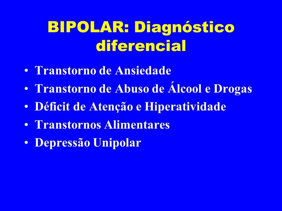BIPOLAR: Diagnóstico diferencial
