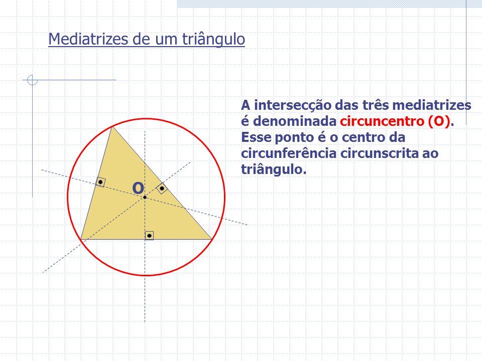 Mediatrizes de um triângulo