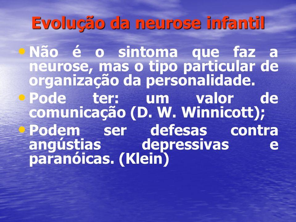 Evolução da neurose infantil
