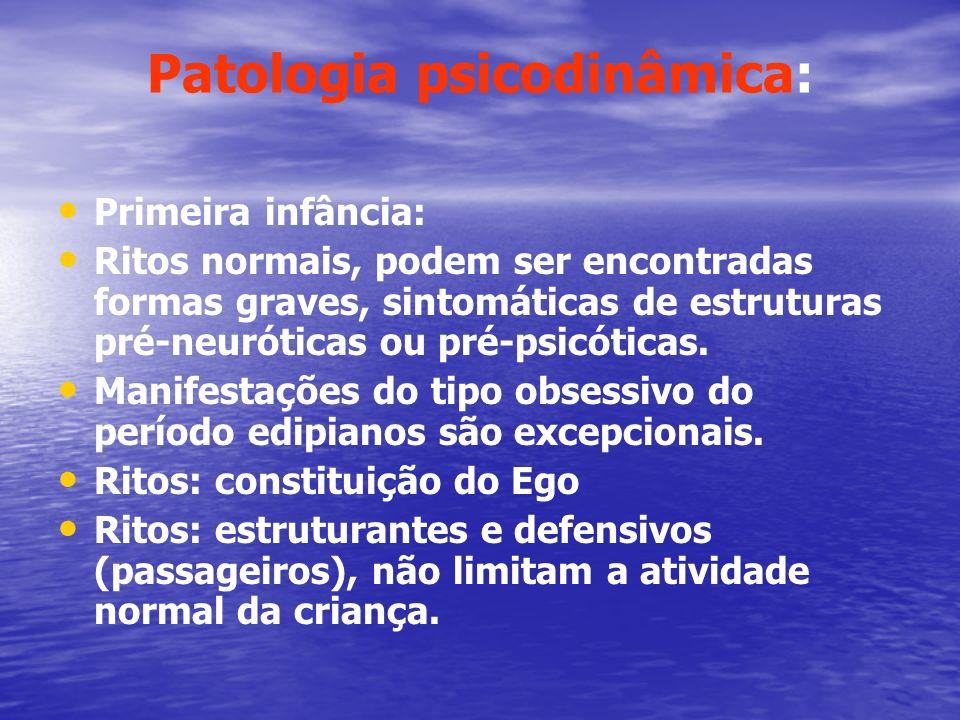 Patologia psicodinâmica: